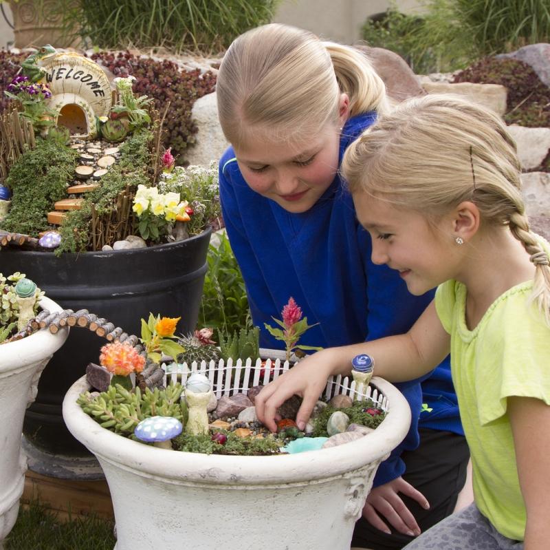 Rustoleum ReColor by Wipe DIY Fairy Garden